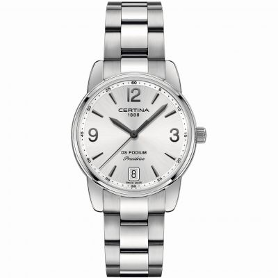 Ladies Certina DS Podium Precidrive Watch C0342101103700