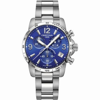 Certina DS Podium Precidrive Herrenchronograph in Silber C0344171104700