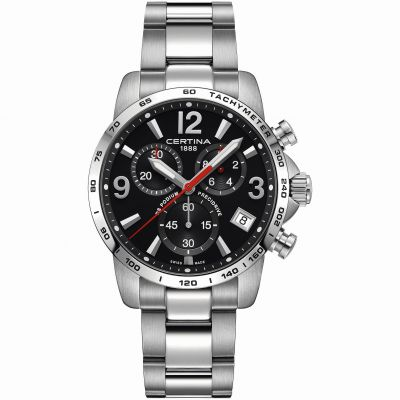 Certina DS Podium Precidrive Herrenchronograph in Silber C0344171105700