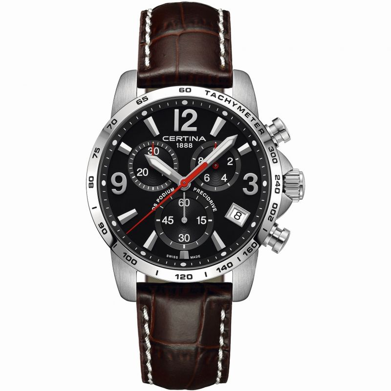 Mens Certina DS Podium Precidrive Chronograph Watch C0344171605700