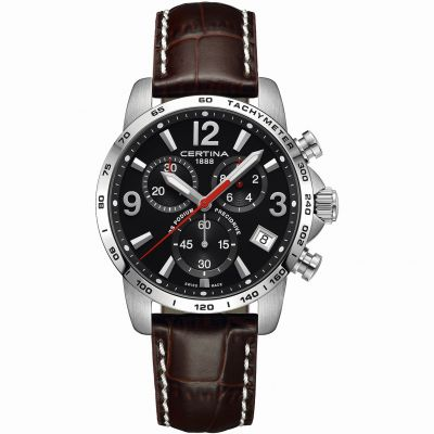 Certina DS Podium Precidrive Herrenchronograph in Braun C0344171605700