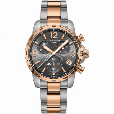 Mens Certina DS Podium Precidrive Chronograph Watch C0344172208700