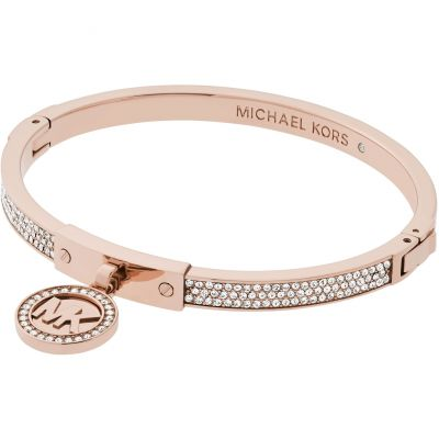Ladies Michael Kors PVD rose plating Hinged Bangle MKJ5978791