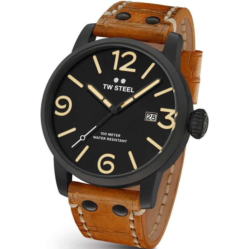 Mens TW Steel Maverick 45mm Watch TWMS31