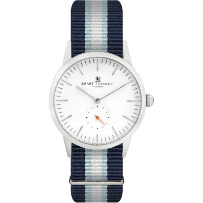 Smart Turnout Signature Boat Race Cambridge Herrenuhr in Blau STK3/WH/56/W-RO