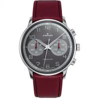Mens Junghans Meister Driver Chronoscope Automatic Chronograph Watch 027/3685.00