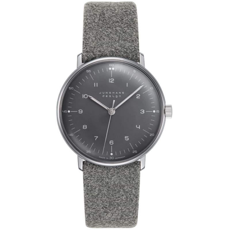 Ladies Junghans Max Bill Mechanical Watch 027/3602.00