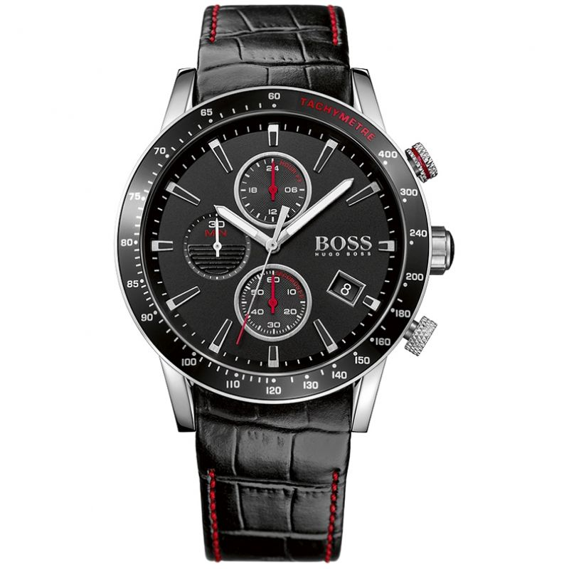 Mens Hugo Boss Rafale Chronograph Watch