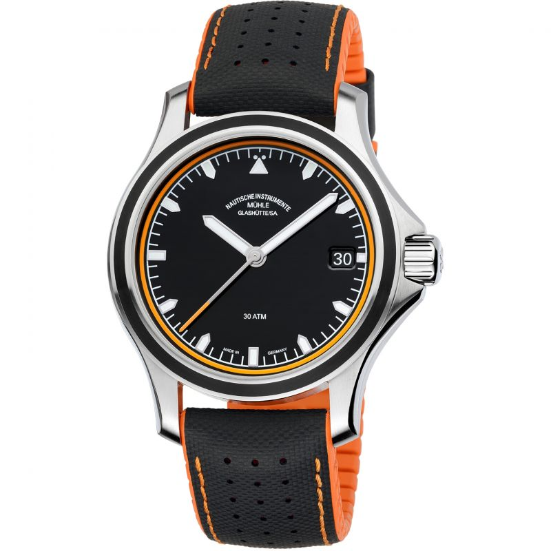 Mens Muhle Glashutte Promare Datum Automatic Watch