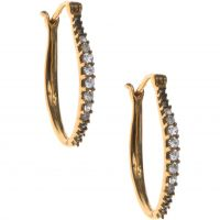Ladies Judith Jack PVD Gold plated Earrings 60384293-887