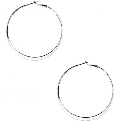 Lg Flat Hoop Pierced Ears Earrings 79943582-G03