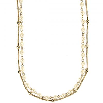 Anne Klein Dam Necklace Basmetall 60283382-887