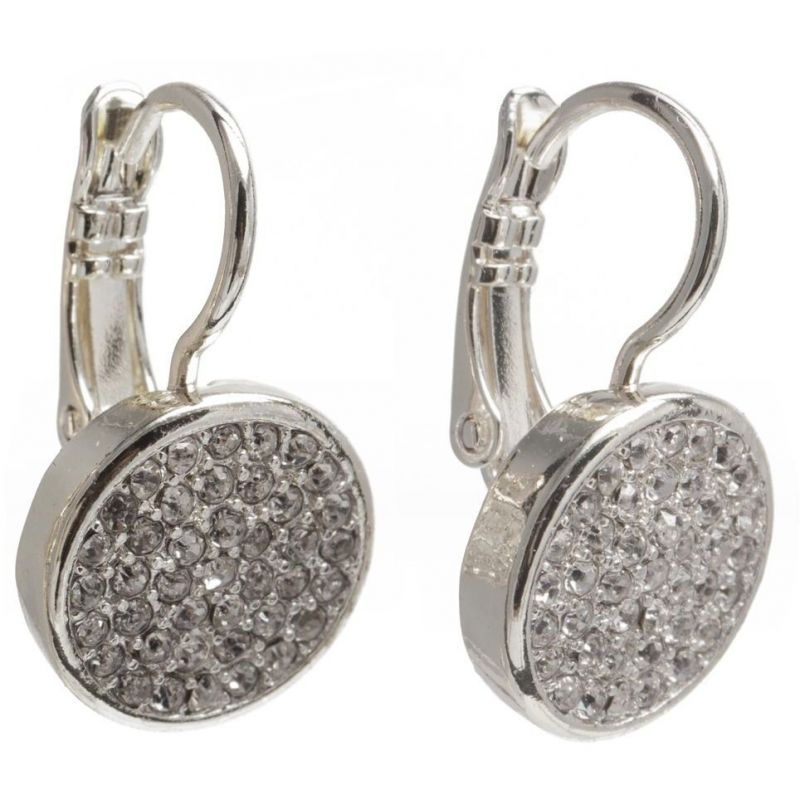 Pave Drop Pierced Ears Earrings 60334535-G03