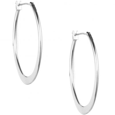 Large Oval Hoop Pierced Ears Earrings 60155667-G03
