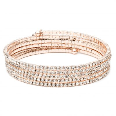 Multi Row Stone Flex Bracelet 60377209-887