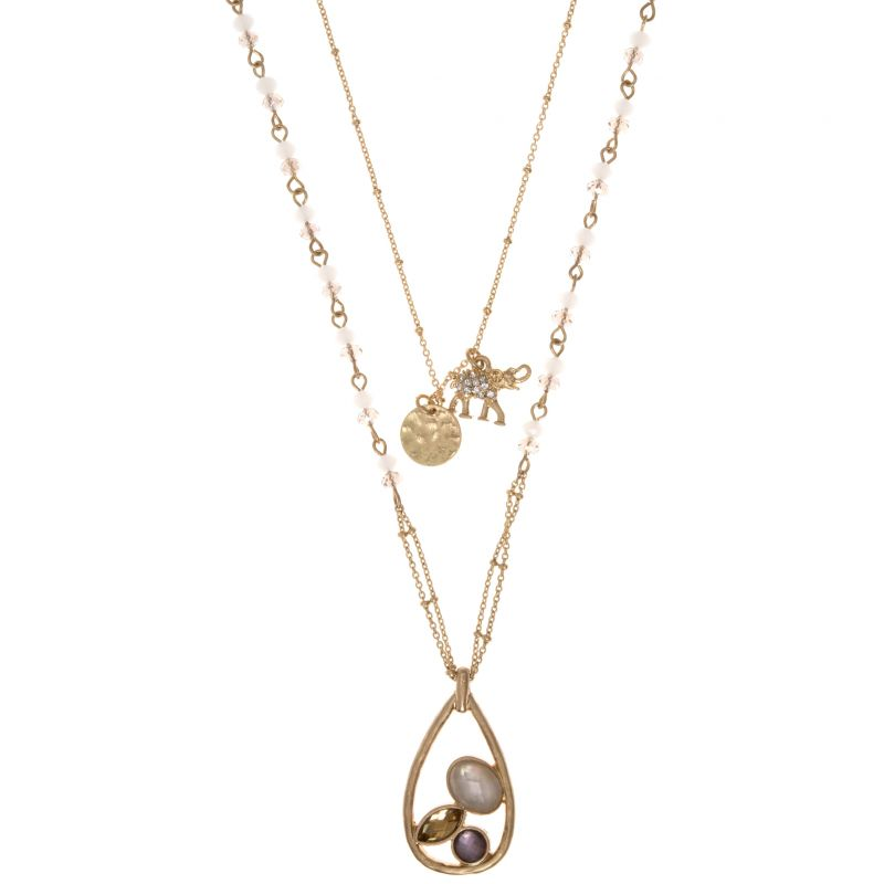 Ladies Lonna And Lilly Base metal Necklace 60431990-E50