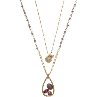 Ladies Lonna And Lilly Base metal Necklace 60431991-D99