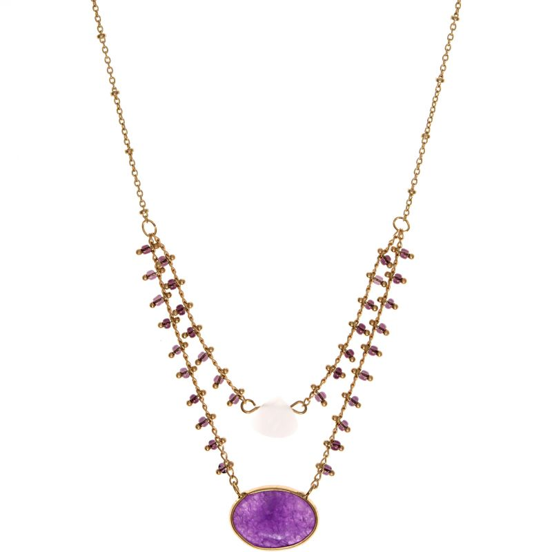 Ladies Lonna And Lilly Base metal Necklace 60432000-E50