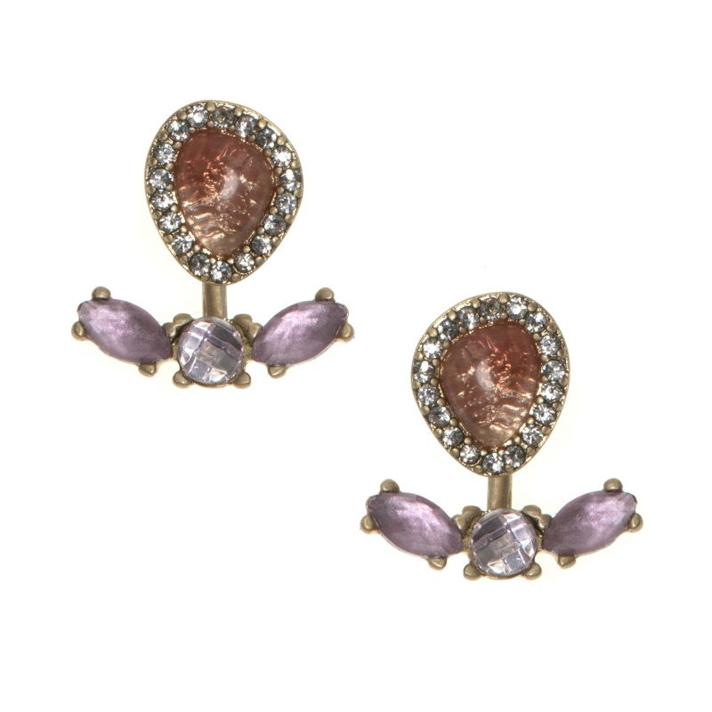 Ladies Lonna And Lilly Base metal Earrings 60431995-E50