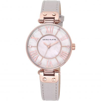 Anne Klein The Signature Damenuhr in Grau 10/N9918RGTP