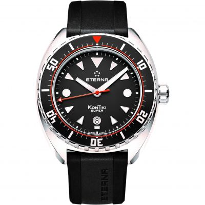 Mens Eterna KonTiki Super Automatic Watch 1273.41.46.1382
