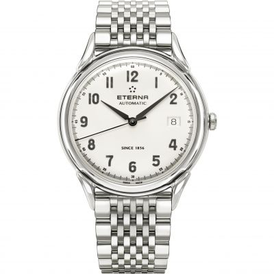 Mens Eterna Heritage 1948 Automatic Watch 2955.41.14.1741