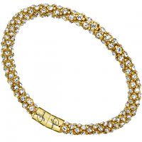 Gioielli da Donna Guess Jewellery Glamazon Crystal Bangle UBB81333