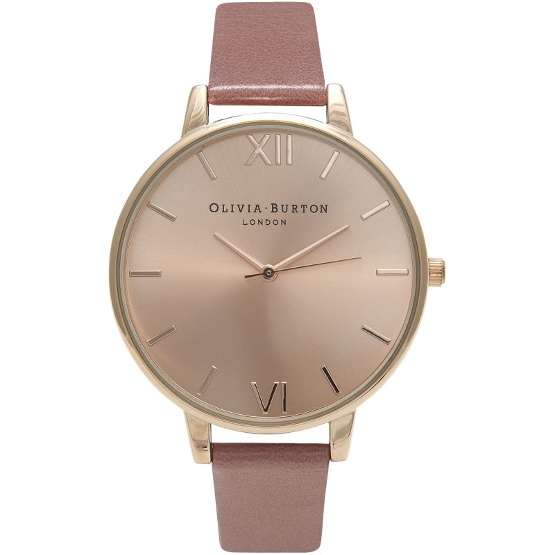 Sunray Rose Gold & Rose Watch