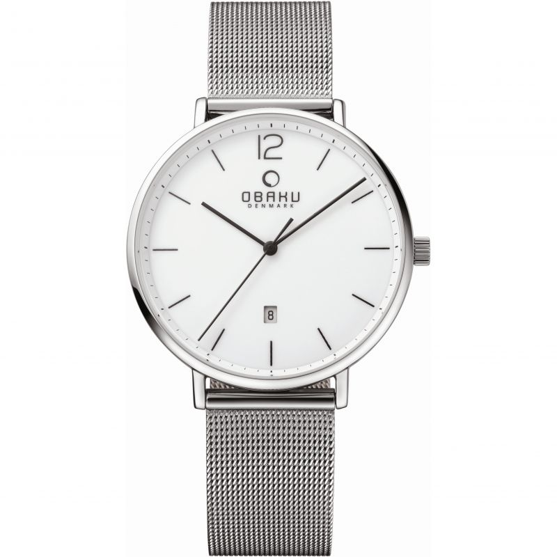 Mens Obaku Toft Watch V181GDCWMC