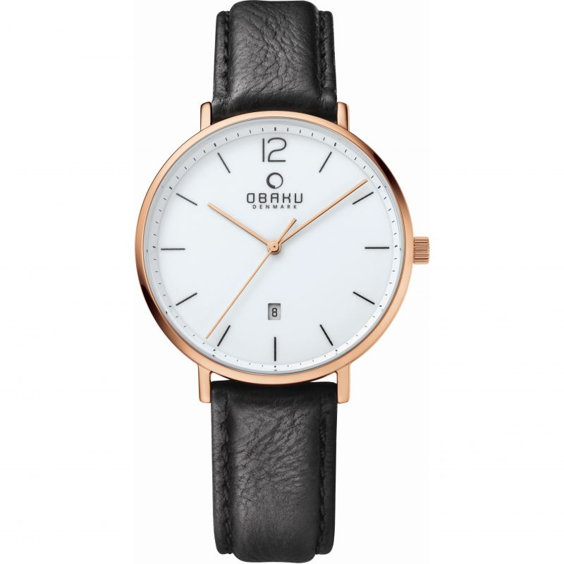 Mens Obaku Toft Watch V181GDVWRB