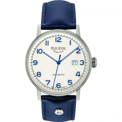 Mens Bruno Sohnle Stuttgart Automatik Automatic Watch 17-12173-223