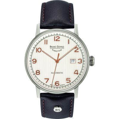 Mens Bruno Sohnle Stuttgart Automatik Automatic Watch 17-12173-225