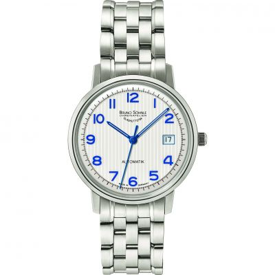 Mens Bruno Sohnle Stuttgart Lady Automatik Automatic Watch 17-12174-224