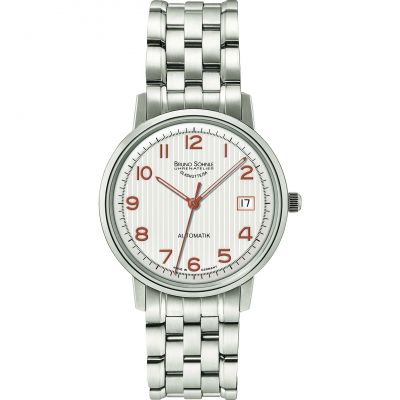 Mens Bruno Sohnle Stuttgart Lady Automatik Automatic Watch 17-12174-226