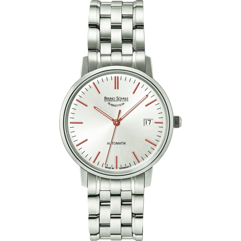 Mens Bruno Sohnle Stuttgart Lady Automatik Automatic Watch 17-12174-246