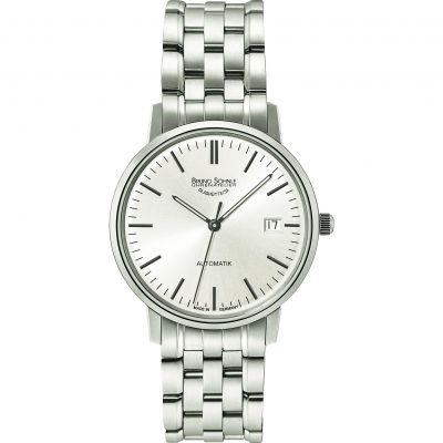 Mens Bruno Sohnle Stuttgart Lady Automatik Automatic Watch 17-12174-248