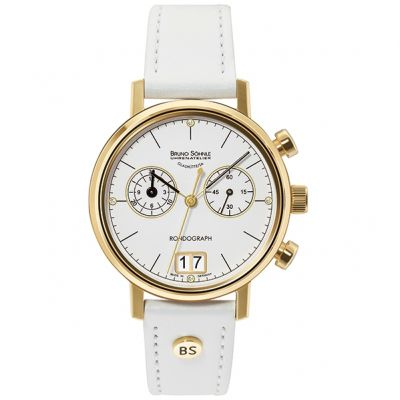 Ladies Bruno Sohnle Rondograph Lady Chronograph Watch 17-33172-291