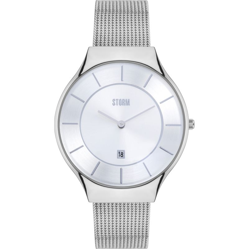 Unisex Storm Reese Silver Watch