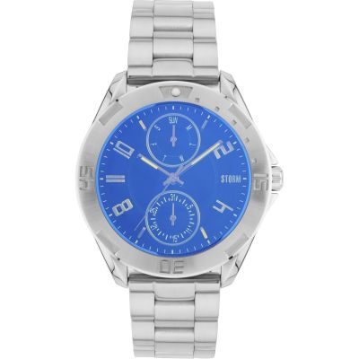 Mens STORM Multinox Lazer Blue Watch 47322/LB