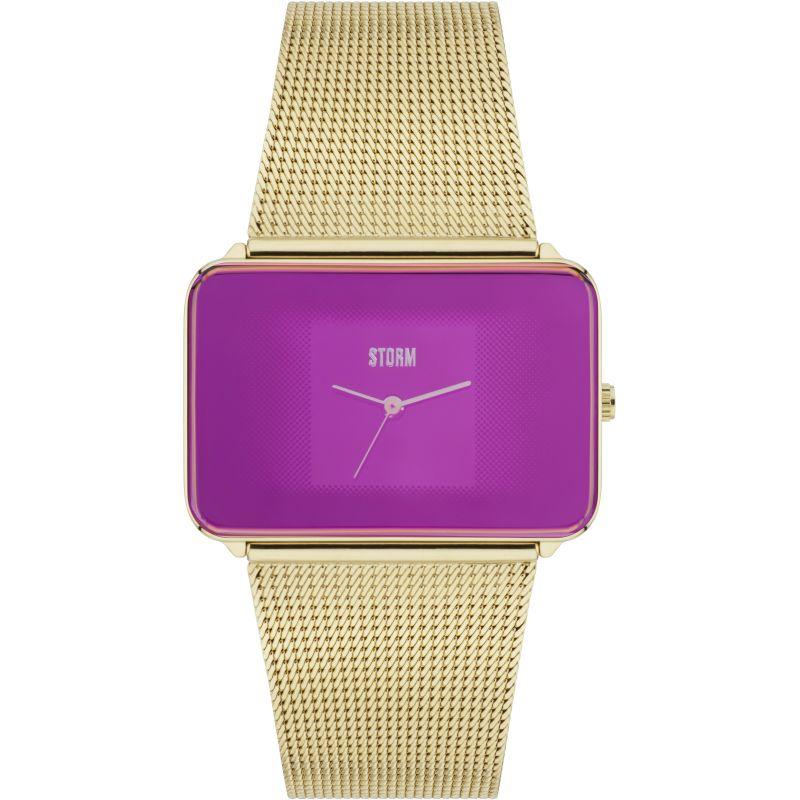 Ladies Storm Zila Gold Watch