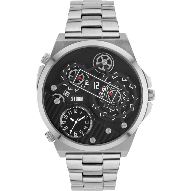 Mens Storm Trimatic Black Watch