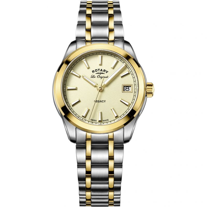 Ladies Rotary Swiss Made Legacy Quartz Watch