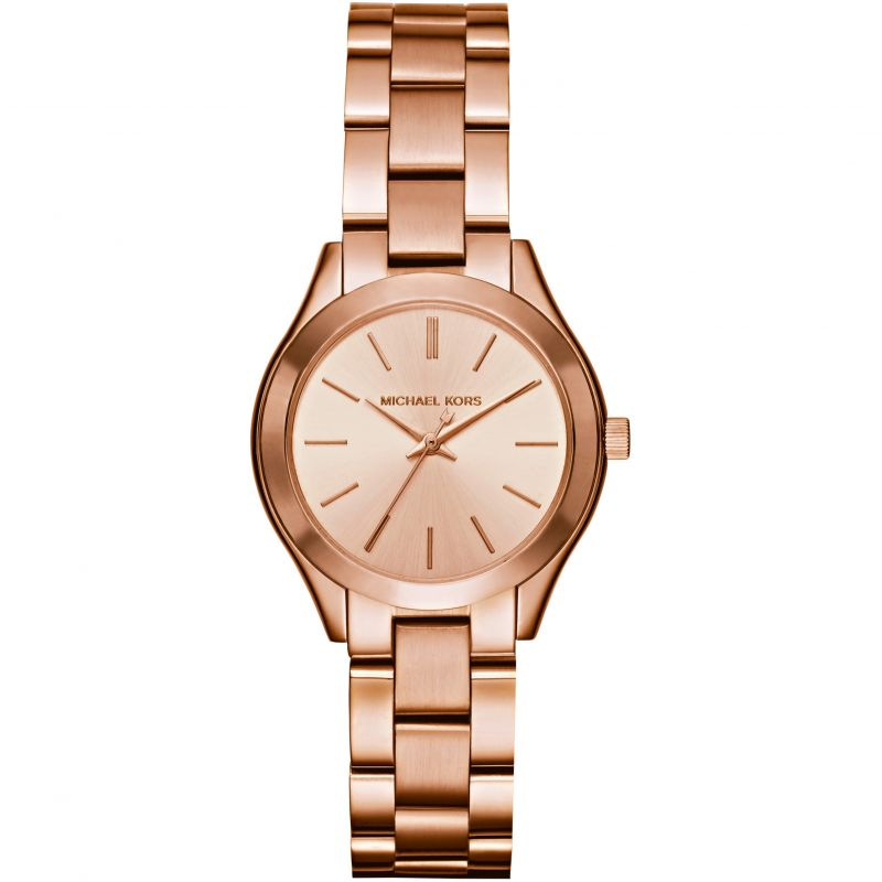 Ladies Michael Kors Mini Slim Runway Watch MK3513