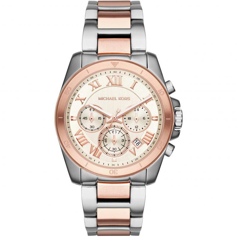 Ladies Michael Kors Brecken Chronograph Watch