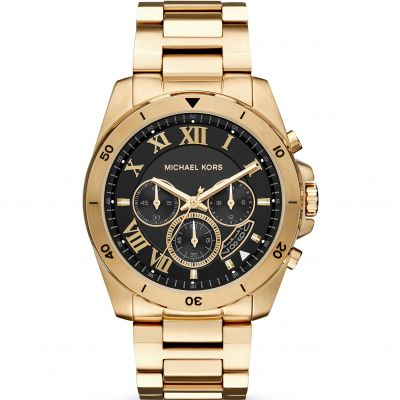 Mens Michael Kors Brecken Chronograph Watch MK8481