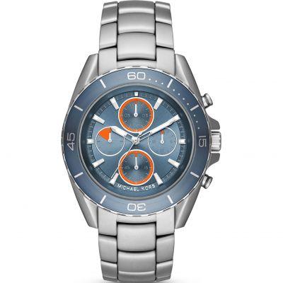 Mens Michael Kors The Jetmaster Chronograph Watch MK8484