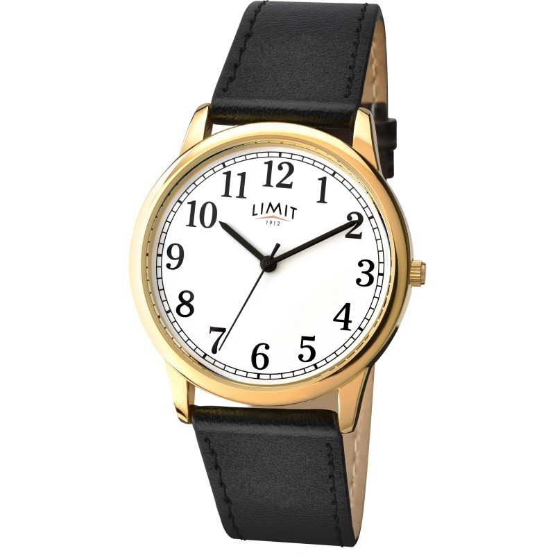 Mens Limit Gold PLated Classic Watch 5615.37