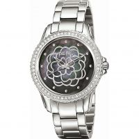 Folli Follie Santorini Flower Exclusive Damklocka Silver 6010.2061