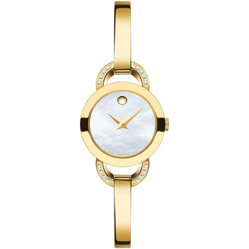 Ladies Movado Rondiro Diamond Watch 0606889