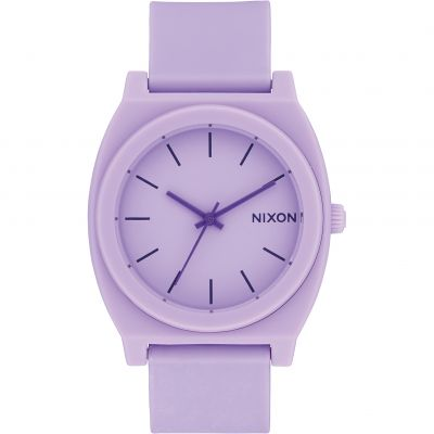 Nixon The Time Teller P Unisexklocka Lila A119-2287